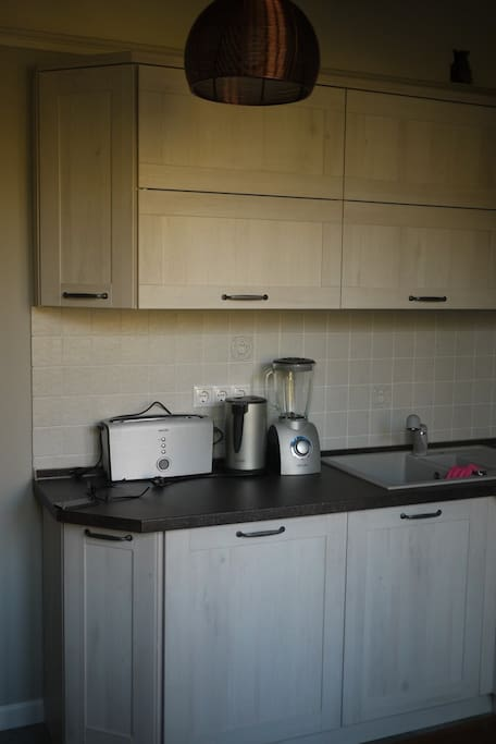 Kitchen facilities at your service