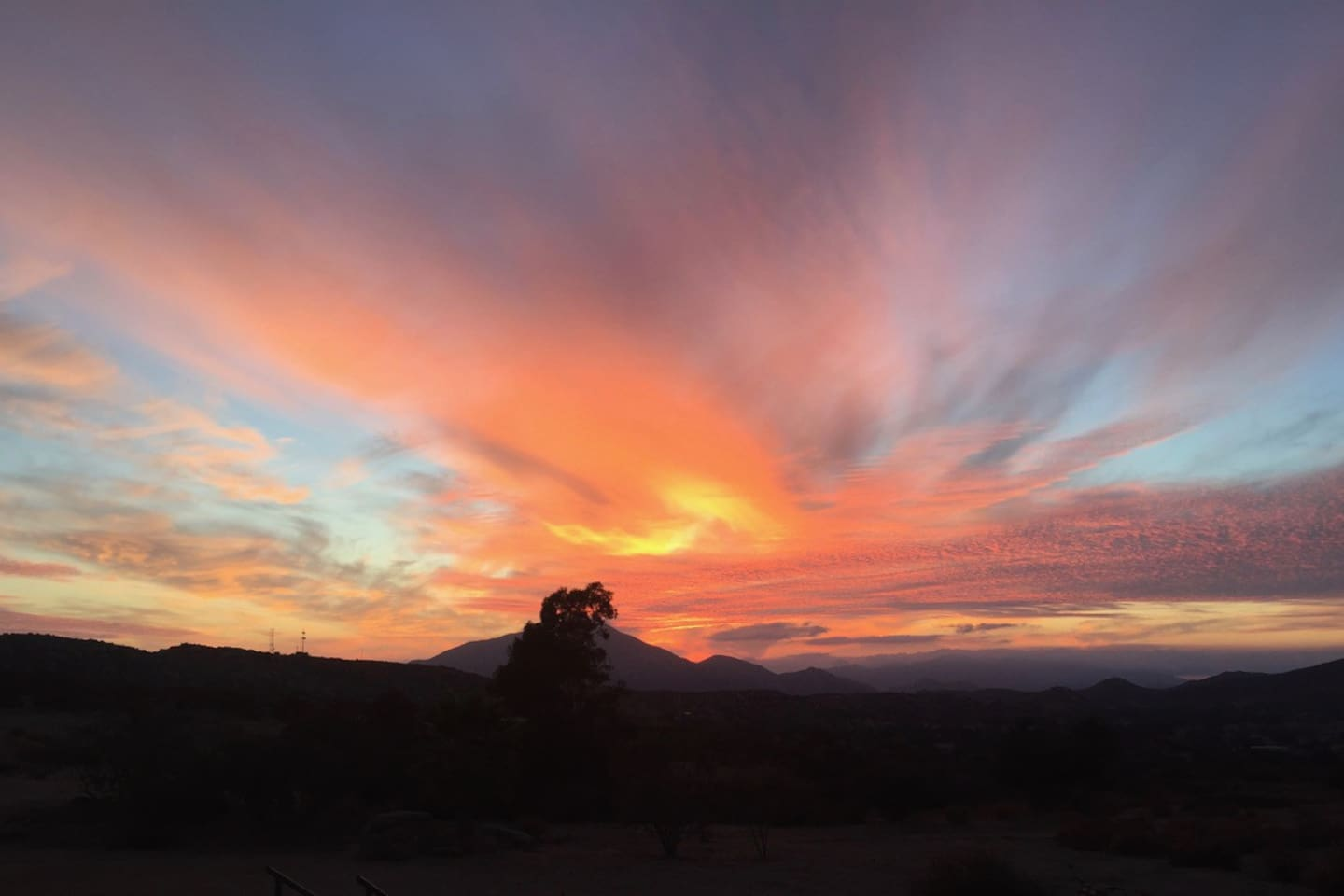 Sunsets around the Ranch!.