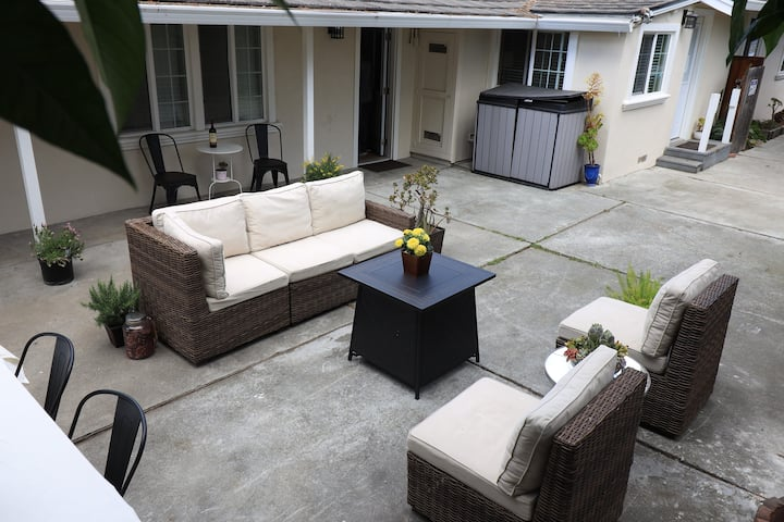 Private Rm #1 In Renovated Silicon Valley Bungalow