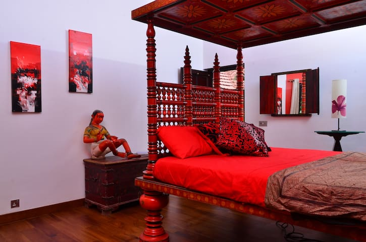Luxury room in Kerala