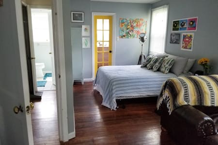 Private Bedroom in charming borough of Hellertown