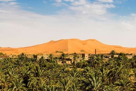 Posada a los pies de las dunas. - Merzouga - Dům
