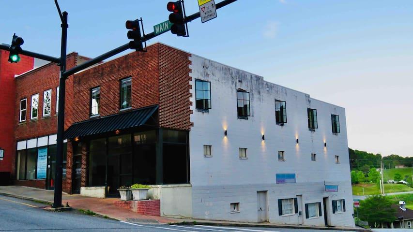 The Lofthouse on Main Street near Asheville