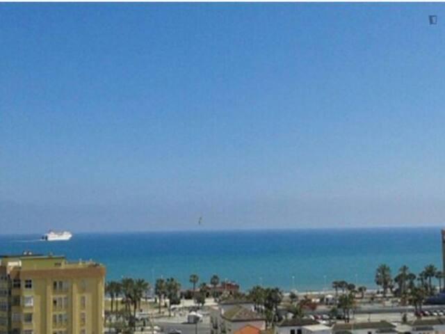 Habitación con vista espectacular al mar