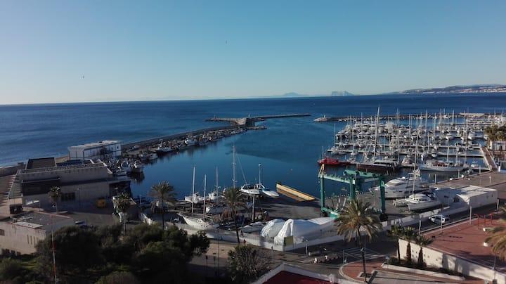 Vista al Faro Estepona