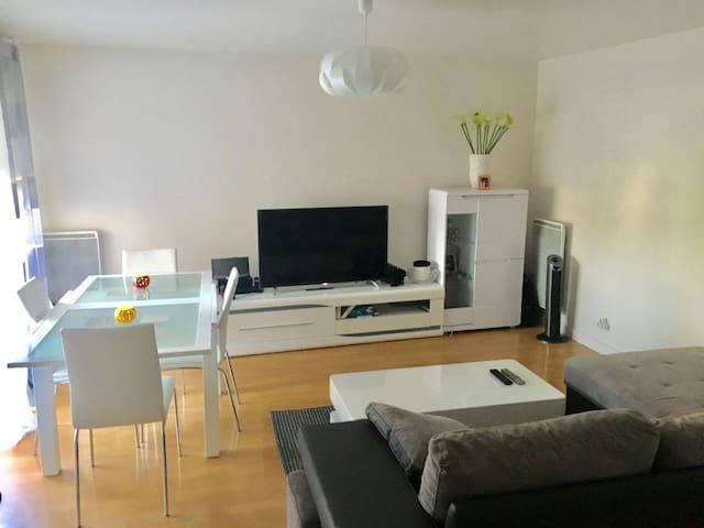 Appartement F2, spacieux et confortable à Dugny! - Dugny - Apartamento