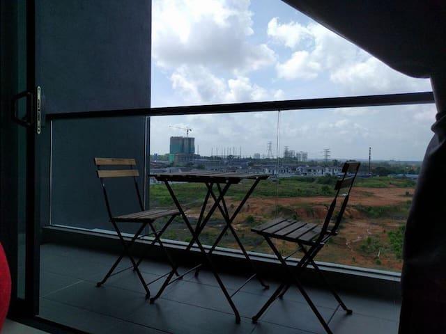 Summer Room@ Raffles Suites/ Sutera Mall/ Skudai - Skudai - Lyxvåning