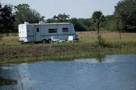 Camper on the Horse Ranch near Myakka State Park - Myakka City