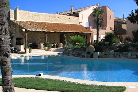 Big pool, 6 bedrooms, ideal families- ½ hr airport - Mailhac - Ev