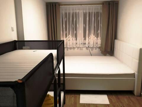 2 Zimmer mit Badezimmer, auch einzeln buchbar