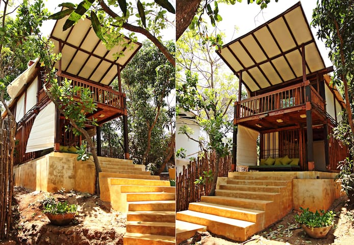 Beach Side Tree House Experience   - Pernem