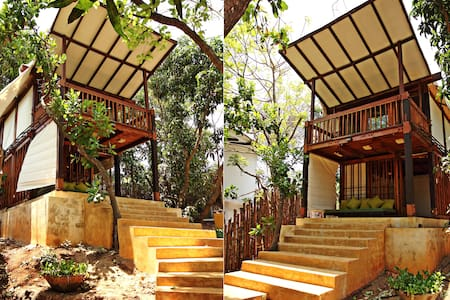 Beach Side Tree House Experience   - Pernem - Cabana en un arbre