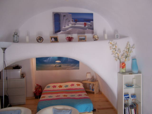 Angelos lovely house in Santorini ! - Θήρα - Hus