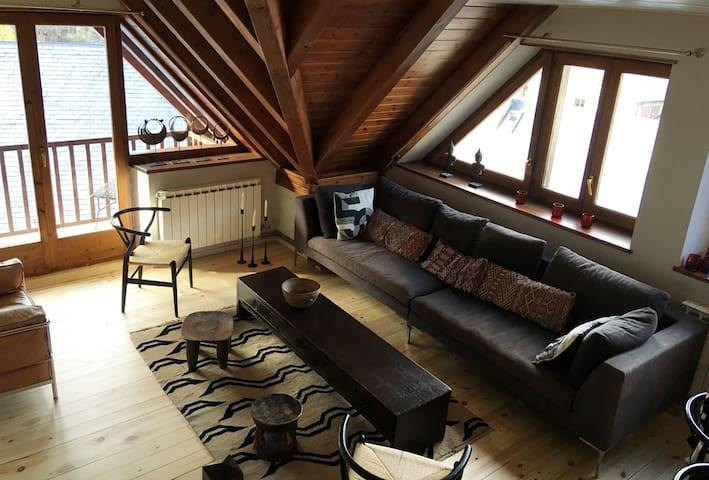 Beautiful Attic Duplex in Tredos Baqueira Beret - Tredòs - อพาร์ทเมนท์