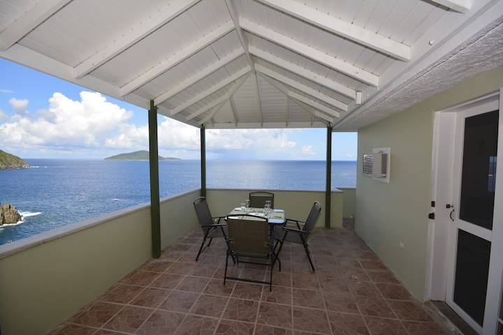 Secluded Oceanfront Studio with Pool!