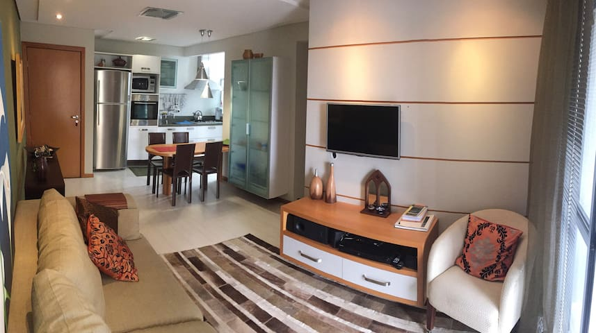 New, complete and grate location - Curitiba - Flat