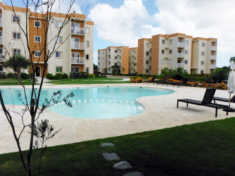 apartment with pool at punta cana apartments for rent in