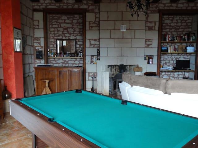 2 Chambres proche de La Roche Posay - Coussay-les-Bois - Rumah