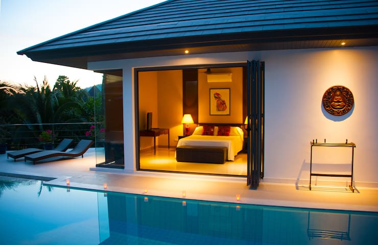 Guest bungalow in Luxury Pool Villa - Rawai