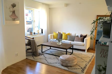 Modern apartment 8 minutes from the city center - Sundbyberg