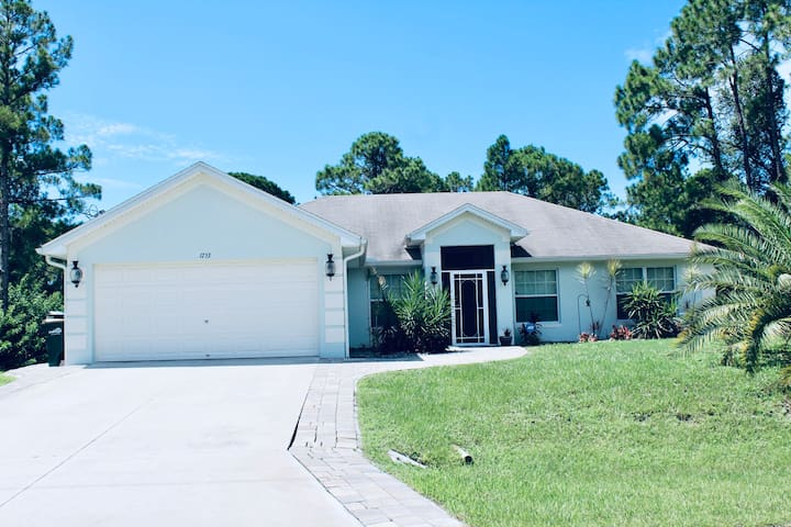 Private Pool Home in North Port Florida