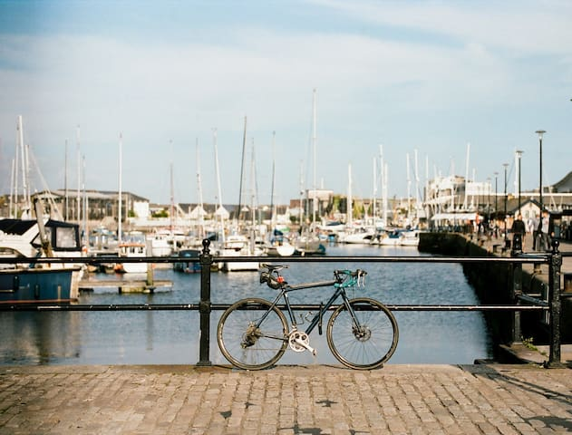 Cycle or walk around Plymouth Harbour.