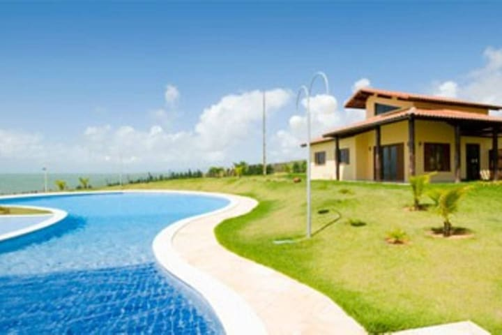 BEACH HOUSE in Condo with pool - Rio do Fogo - Apartment