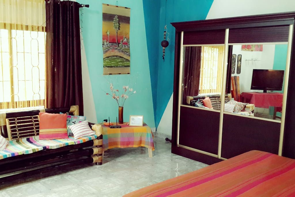 House fully furnished and decorated