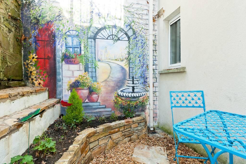 'Secret Garden' - still working on my gardening skills!