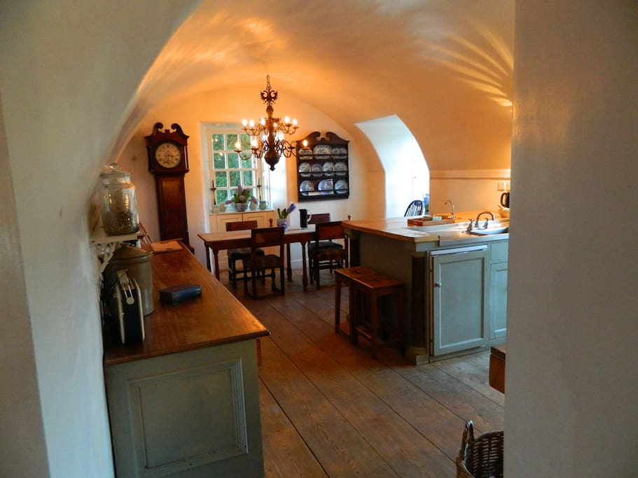 Historic and spacious Kitchen