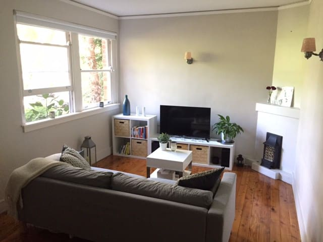 Cosy and modern flat by Rushcutters Bay Park - Rushcutters Bay - Apartemen