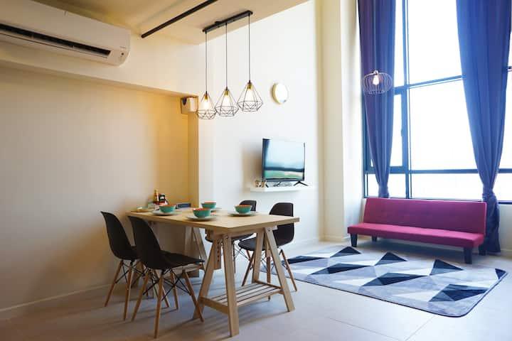 Cosy Designer Duplex Home | Netflix | Tamarind Sq