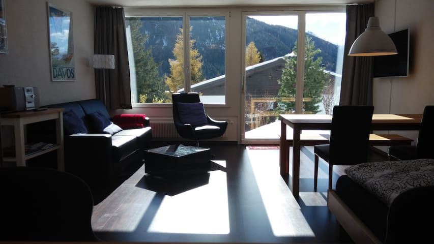 Modern apartment in snowy Davos - Davos - Appartement