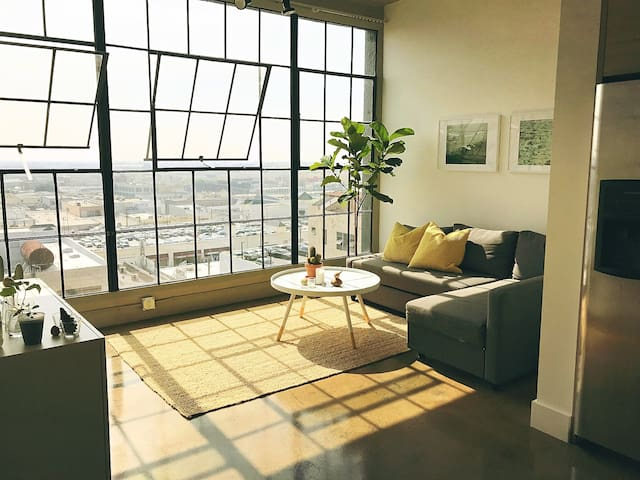 Endless views! Cozy Downtown loft!