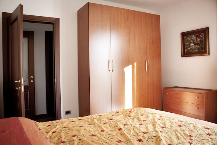 Double room and the wardrobe