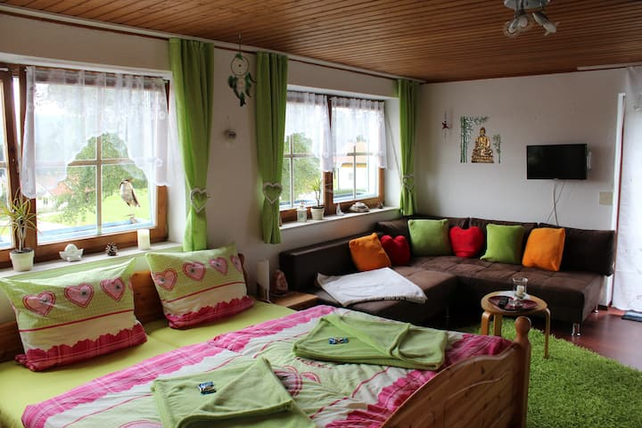 Apartment in spiritually guided house Sonnenberg