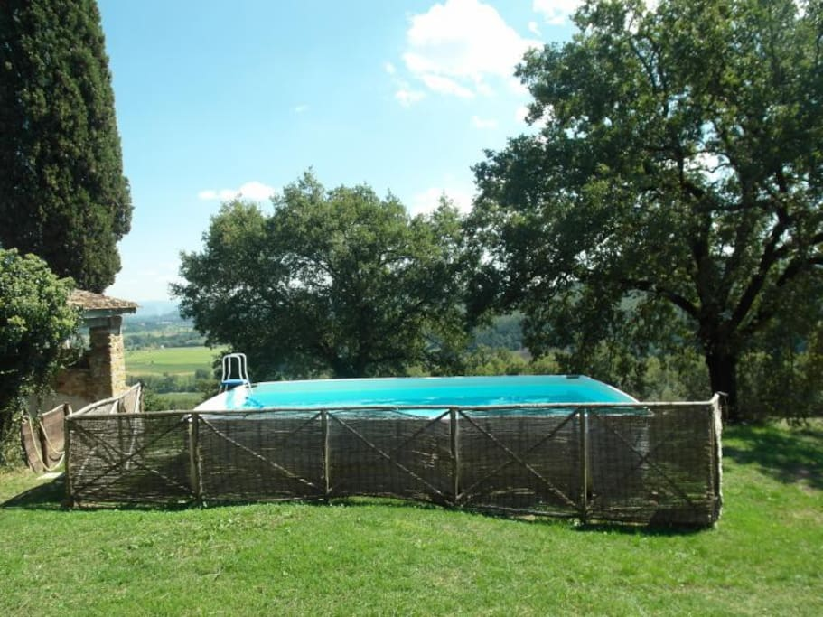 Over ground pool (shared with main house)