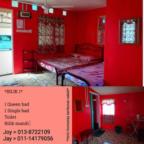 Cozy place and strategic location within Tambunan