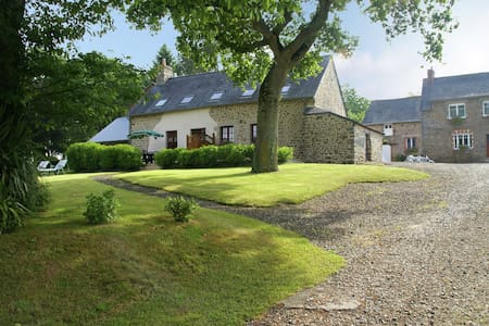 House with stunning views across the meadows, 30min from Mont Saint-Michel!