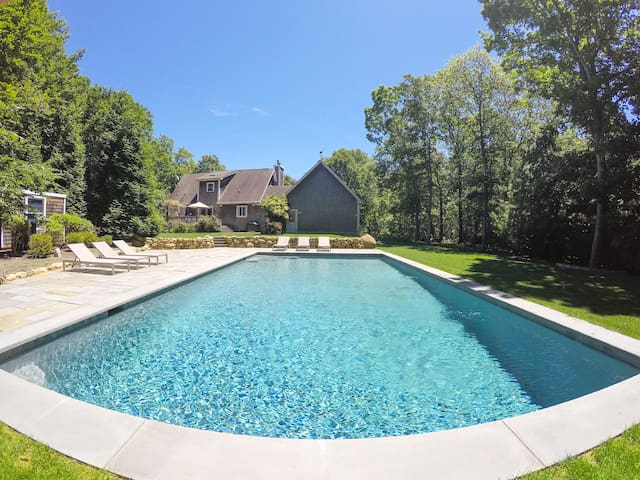 LUXURY RENOVATION! Montauk w/ Pool + Walk to Ocean