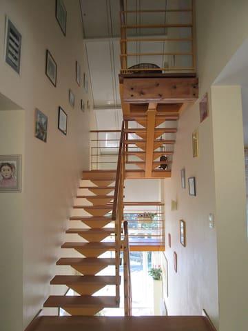 Chambre dans belle maison calme, près des Pyrénées - Aubertin - Hus