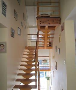 Chambre dans belle maison calme, près des Pyrénées - Aubertin