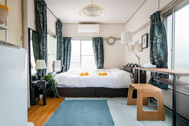 Airy, Comfortable Room in Shinjuku / Free WiFi