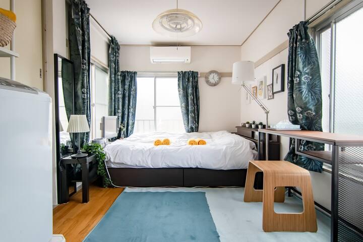 Airy, Comfortable in Shinjuku / Free WiFi / 9-301