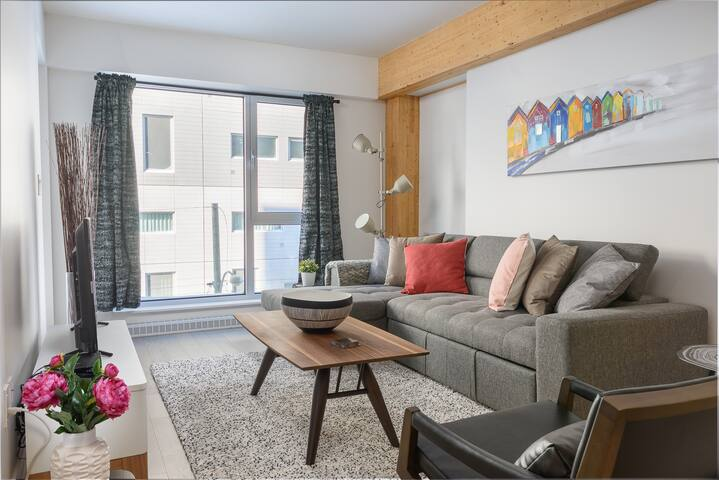 Stylish 1BR Executive Suite - Downtown Montreal