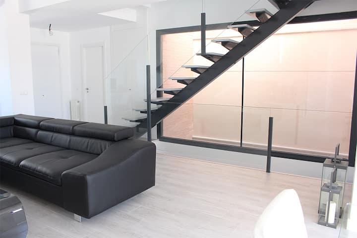 Habitación privada en chalet de diseño