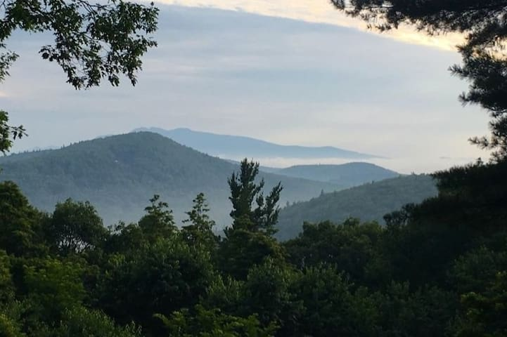 Mountainside home near Linville Gorge and Parkway