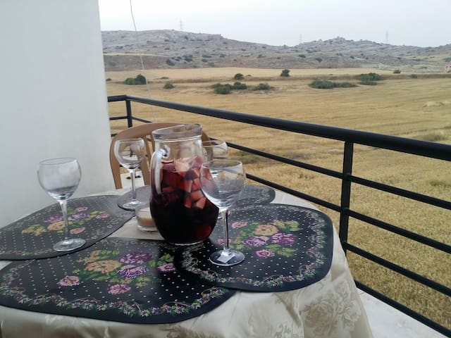 Sangria on your one of 4 balcony's