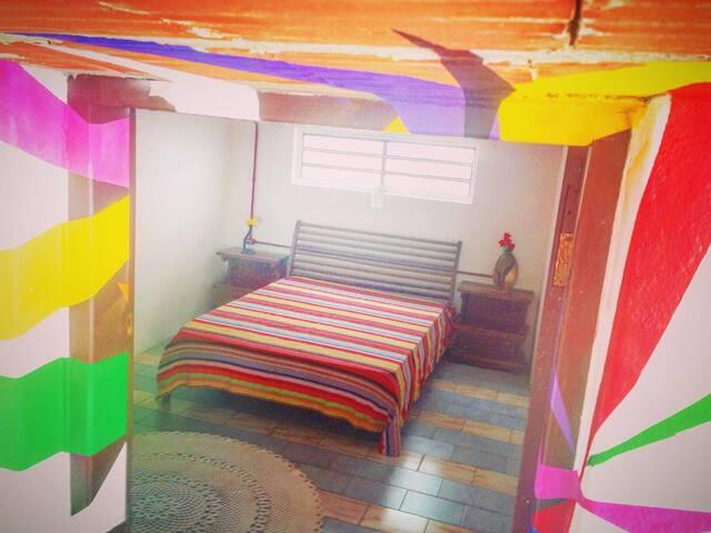 suite tipo edícula, de 22 metros quadrados