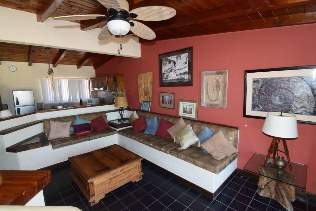 Casa Esperanza San Felipe vacation Rental Home - living room furniture